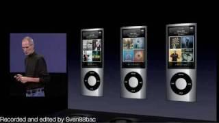 Apple Sept 2009 Music Event Keynote - iPod Nano 5G introduction