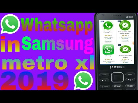 Download How To Use Whatsapp In Samsung Metro Xl 2019 | MP3