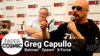 Superstar Batman Artist Greg Capullo Q&A - Fan Expo 2016