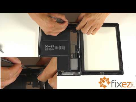 iPad 4 Screen Repair & Disassemble