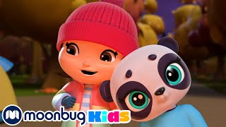 The Panda Bear Went Over the Mountain | Little Baby Bum | Cartoons for Kids | Moonbug Kids
