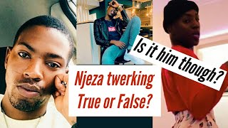 Uzalo's Njeza Twerking | Is It Really Him?