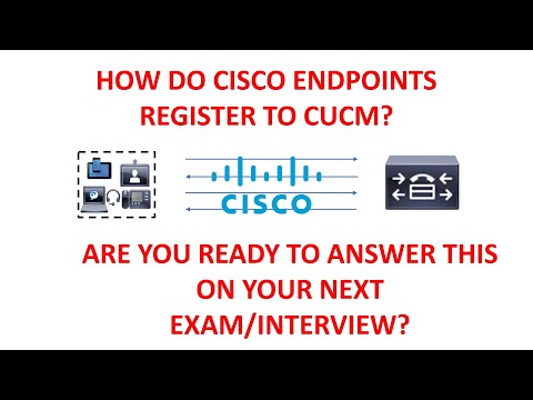 Endpoint Registration With CUCM Tutorial - YouTube