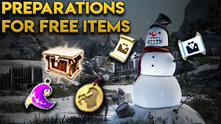 Prep. For Free Pets / Maids / Costume / Coupons In Black Desert Online (Christmas Event)