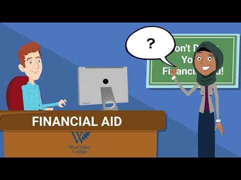 Steps to Apply for Financial Aid West Valley College