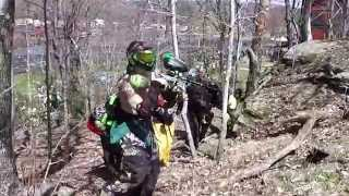 preview picture of video 'TheSkeletor262 - Spring Castle Conquest @EMR Paintball'