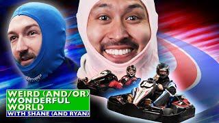 Shane vs. Ryan: High-Speed Kart Racing • Weird Wonderful World