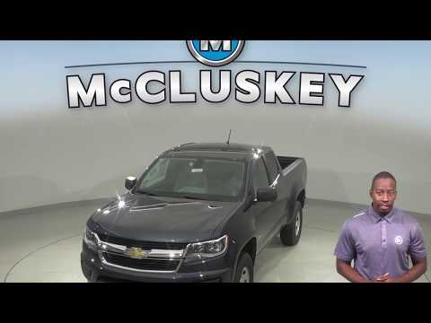 New 2019 Chevrolet Colorado Work Truck
