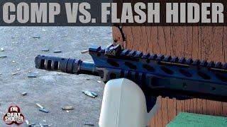 Compensator Vs  Flash Hider