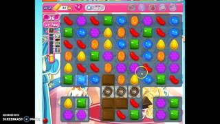Candy Crush Level 485 w/audio tips, hints, tricks