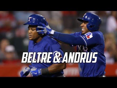 MLB   Adrian Beltre & Elvis Andrus