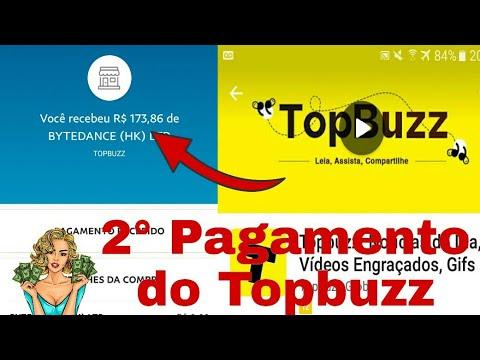 PAGOU DE NOVO!Topbuzz Como Ganhar Dinheiro no Paypal Postando Vídeos