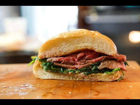 Best Grilled Steak Sandwich recipe by SAM THE COOKING GUY