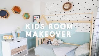 KIDS BEDROOM MAKEOVER | ELLIOTS BEDROOM BEFORE & AFTER | RENOVATION VLOGS