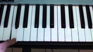 How to play Hope on piano - Emeli Sande