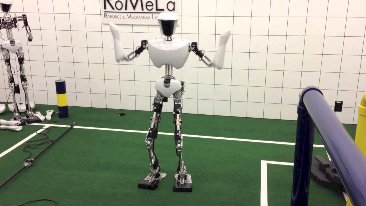 Watch This Humanoid Robot Dance Gangnam Style