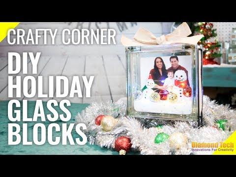 Diamond Tech Craft's KraftyBlok Project: Holiday Crafty Corner Special