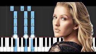 Ellie Goulding - Flux (Piano Tutorial)