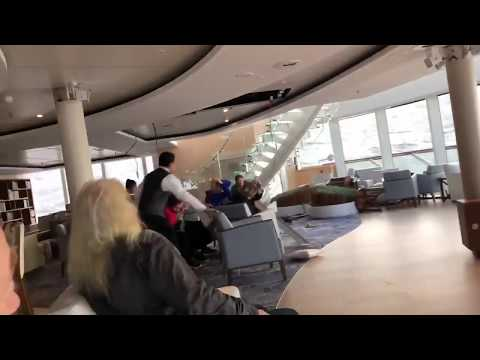 A cruise ship off the coast of Norway has lost power, leaving 1300 passengers stranded as it's battered by dangerous waves