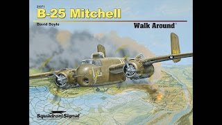 B-25 Mitchell Walk Around