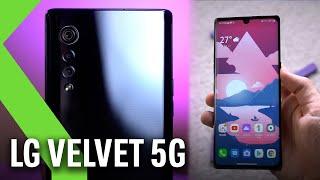 LG VELVET 5G: Análisis tras primera toma de contacto - ¡La GRAN OPORTUNIDAD de LG!