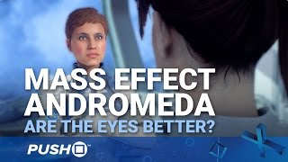 Mass Effect: Andromeda PS4 Patch 1.05: Are the Eyes Better? | PlayStation 4 | Comparison