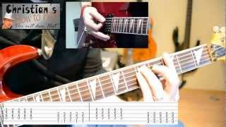 How to Play Offspring SELF ESTEEM Tabs Akkorde E Gitarre Tutorial [HD] Deutsch