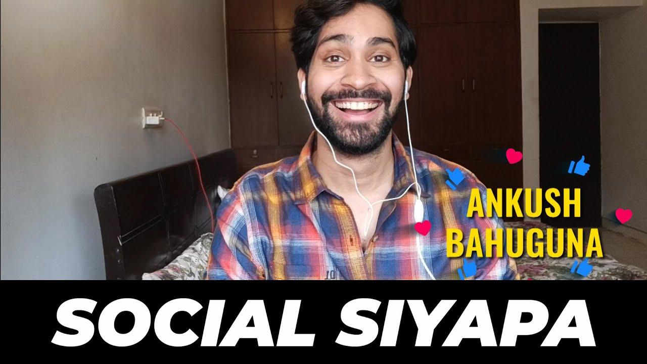 Ankush Bahuguna - Social Siyapa | Rj Rocky & Rj Swati