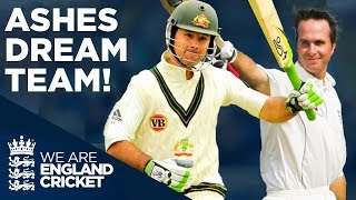 Michael Vaughan vs Ricky Ponting | Who Will YOU Pick? | Ashes Dream Team