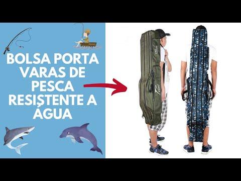 Bolsa Porta Varas de Pesca Resistente a Água