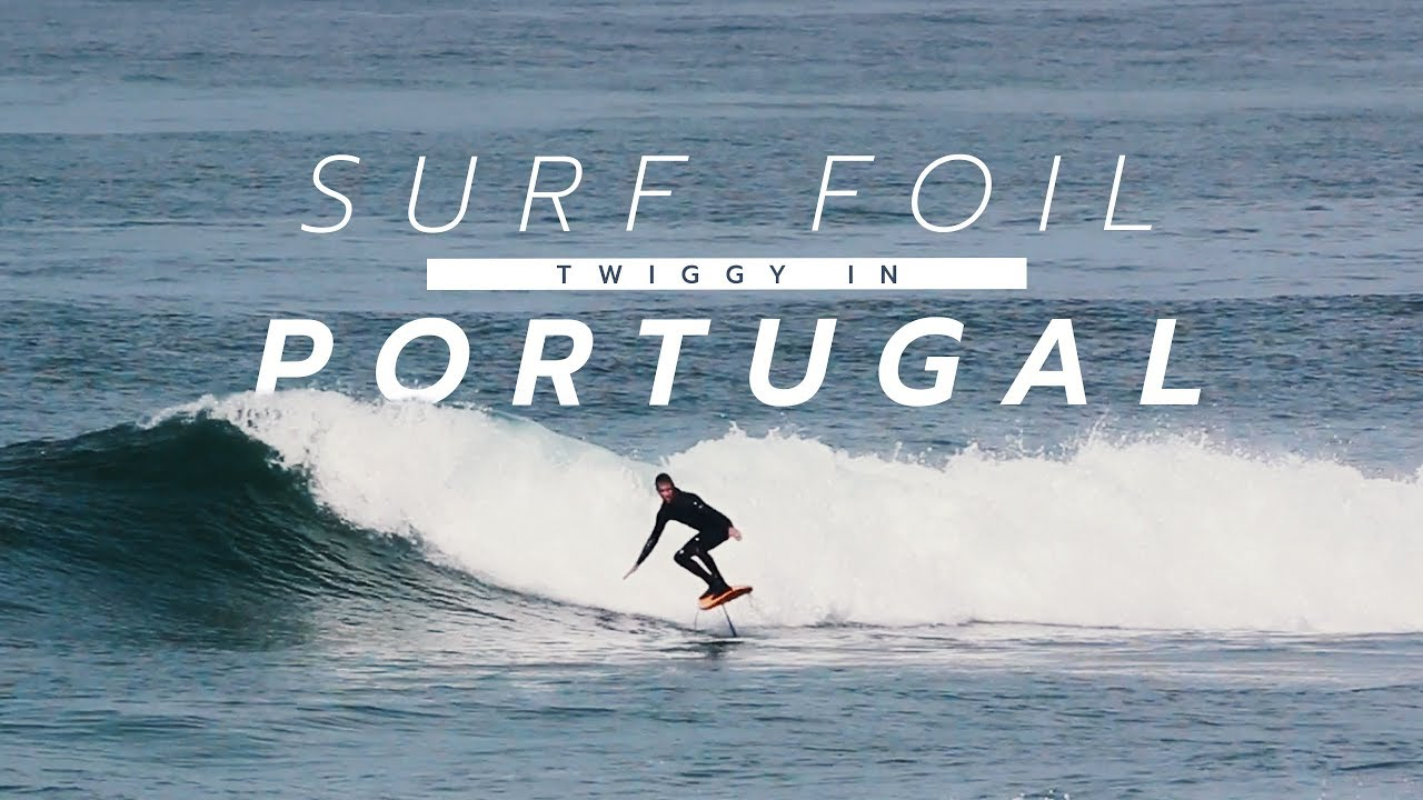 Surf Foil - Twiggy in Portugal