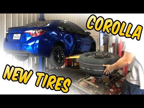 "New Tires 215/45 R17 Hankook Toyota Corolla S 17"" wheels"