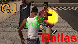 GTA San Andreas - CJ vs Ballas