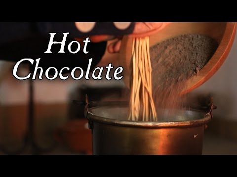 Hot Chocolate Drink – 18th Century Cooking Jas Townsend and Son S4E4