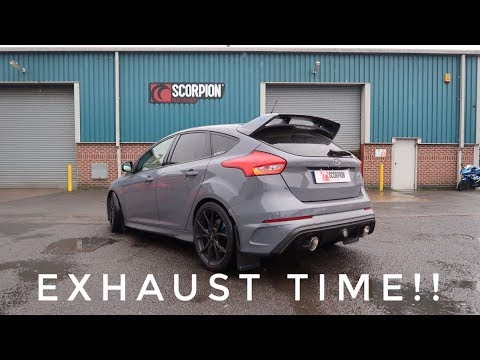 My Focus RS has an XForce Varex Exhaust! | PROJECT PART 6 - смотреть