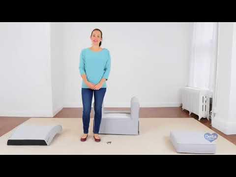 Video De armado y uso sillon lactancia benton