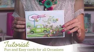 Fun and Easy Cards for all Occasions with Young at Heart Collection