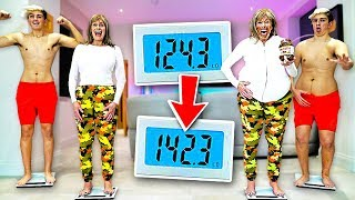 Who can GAIN the MOST WEIGHT in 24 Hours - Challenge