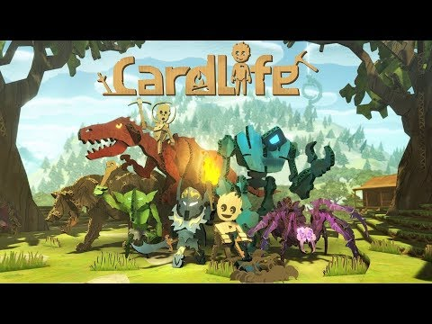 NEW FANTASY SURVIVAL GAME, WITH A TWIST | CardLife | Let's Play Gameplay | S01E01