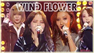 [Comeback Stage] MAMAMOO  - Wind Flower, 마마무 -  Wind Flower  Show Music core 20181201