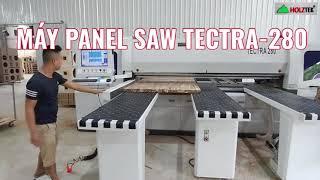 Máy cắt ván gỗ cao su ghép Tectra-280 | Panel saw có sẵn phần mềm tính toán tối ưu!