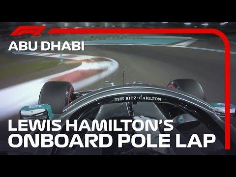 【F1 予選PPオンボード映像】F1 2019 第21戦アブダビGP ポールポジションオンボード