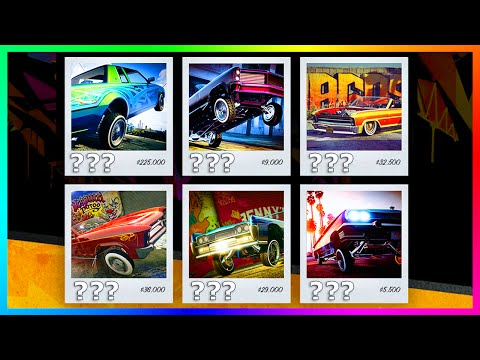 GTA 5 DLC Update - Cars & Vehicles That NEED LOWRIDER Versions In GTA Online! (GTA 5 DLC)