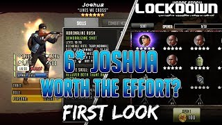 TWD RTS: 6* Joshua, Worth The Effort? First Look   The Walking Dead: Road To Survival