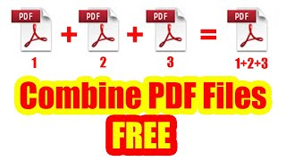How to Merge PDF Files into One For Free   Combine PDF Files OFFLINE