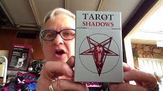 Old Town San Diego Shopping and Unboxing Tarot of Shadows