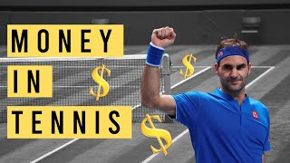 How much MONEY do TENNIS PLAYERS make? (including me)