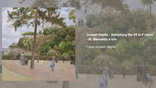 Symphony no. 49 in Fm 'The passion', Hob. I:49