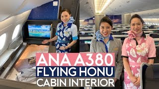 ANA A380 Flying Honu Cabin Tour Show