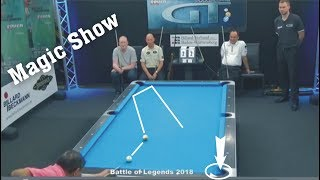 Legend Efren Reyes 2018 || Magic Show - Best shots of Legend 2018